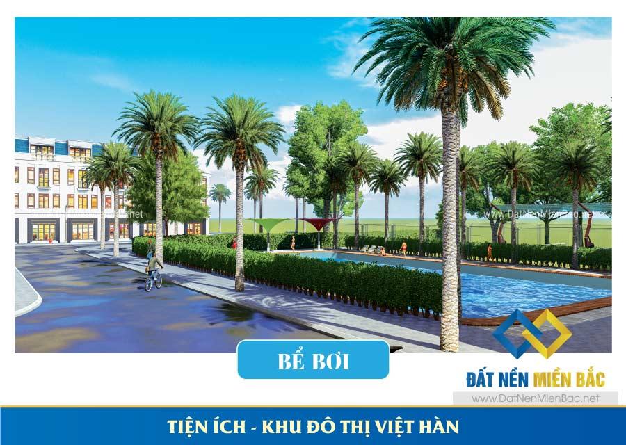 Bể Bơi khu đô thị Việt Hàn