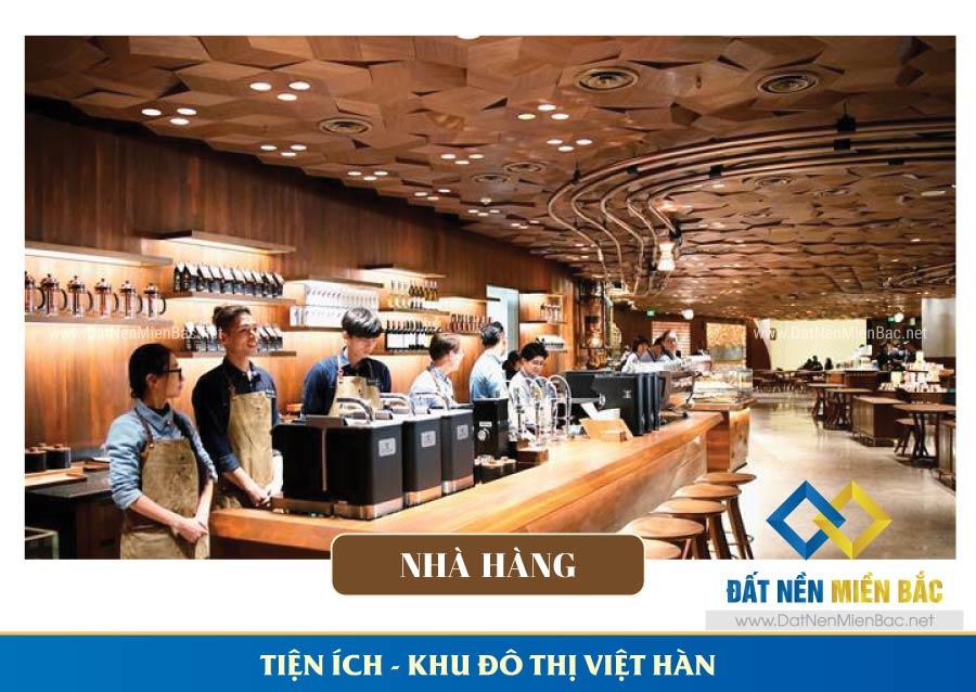 Nhà hàng khu đô thị Việt Hàn