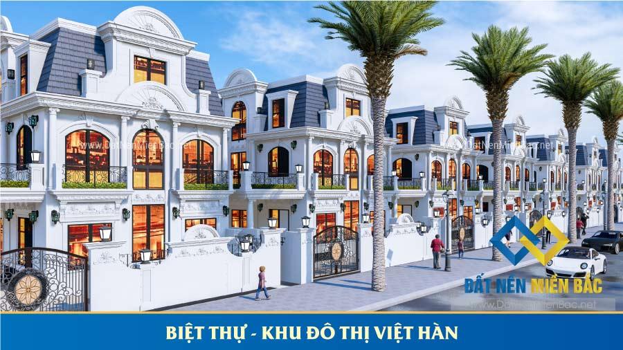 Biệt thự dự án Việt Hàn