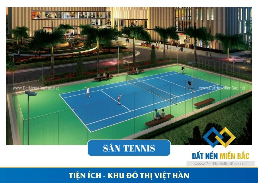 sân tennis khu đô thị việt hàn