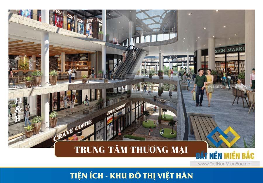 Trung tâm thương mại khu đô thị Việt Hàn