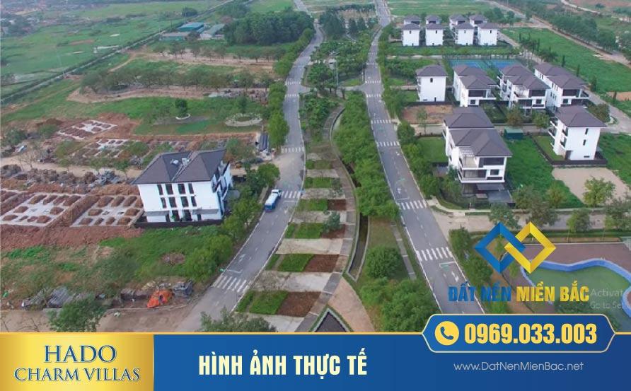 Tiến độ thi công dự án Hà Đô Charm Villas An Khánh