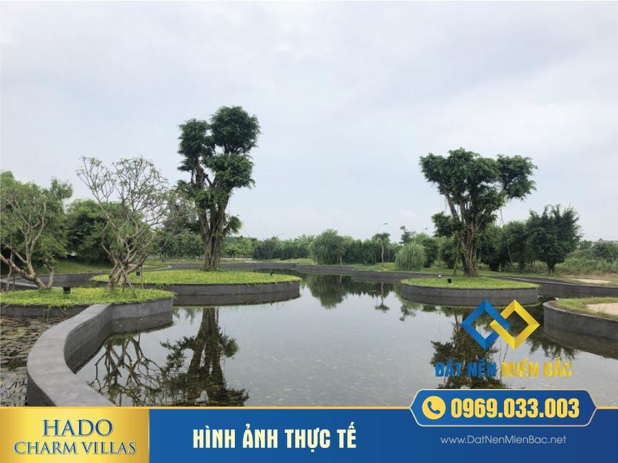 Hình ảnh tiện ích dự án Hà Đôi Charm Villas An Khánh