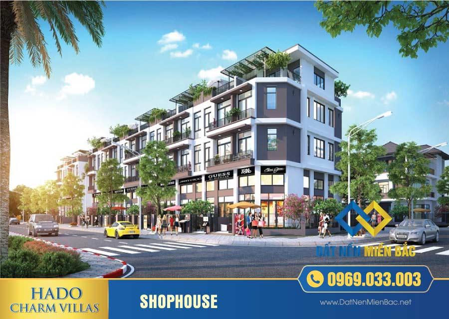 Shophouse hà đô Charm Villas An Khánh