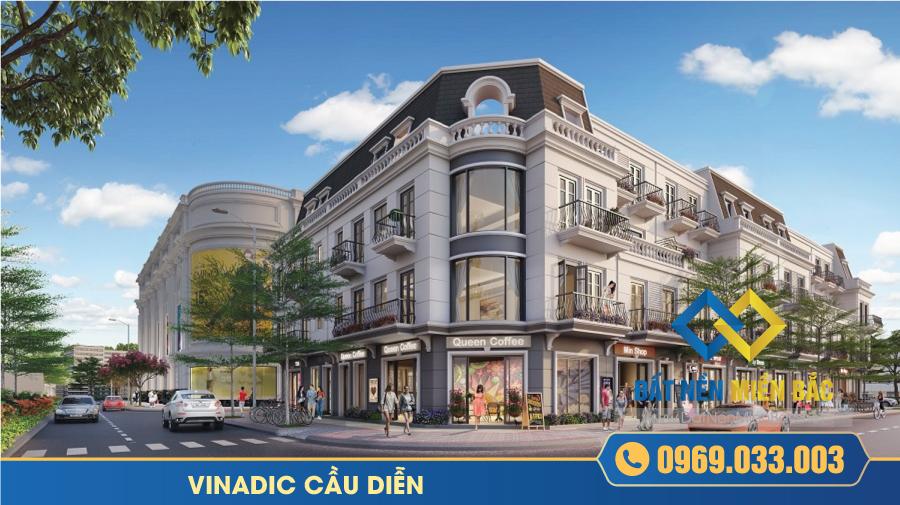 Shophouse dự án Vinadic Cầu Diễn