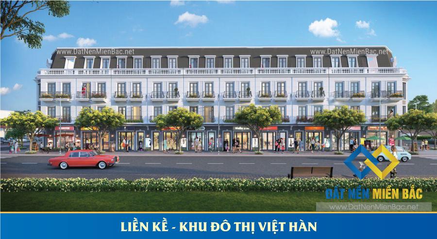 Liền kề dự án Việt Hàn