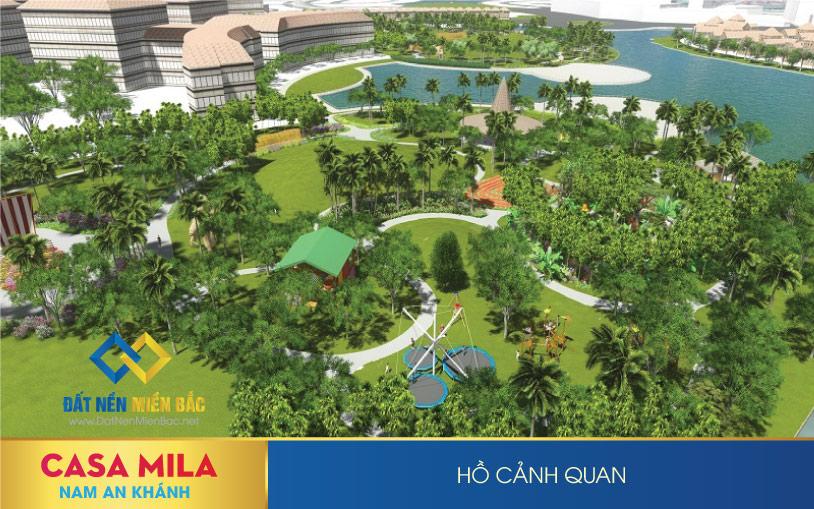 Tiện ích dự án Casa mila Nam An Khánh