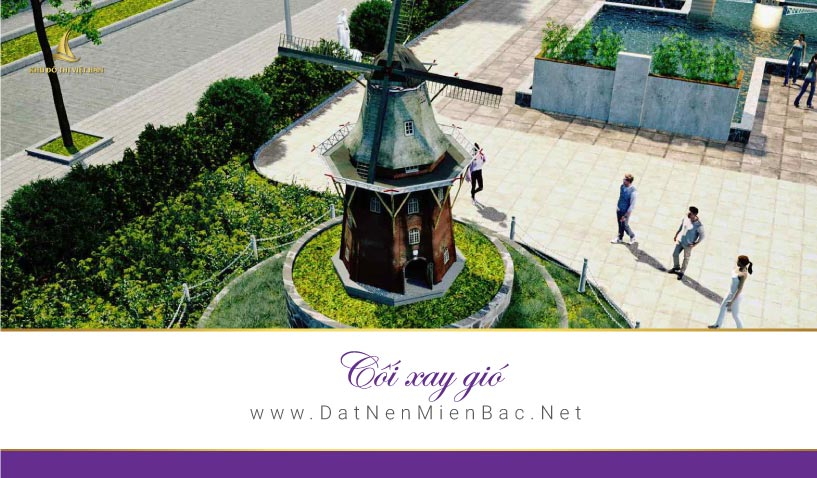 Cối xay gió Khu đô thị Việt Hàn