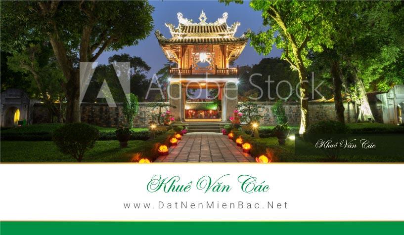 Khuê Văn Các Khu đô thị Việt Hàn