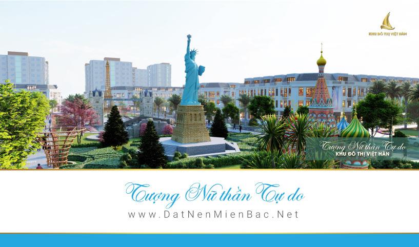 Nữ thần tự do Khu đô thị Việt Hàn