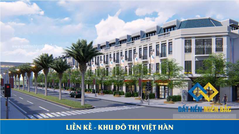 liền kề khu đô thị Việt Hàn