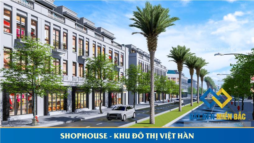 Shophouse Khu đô thị Việt Hàn