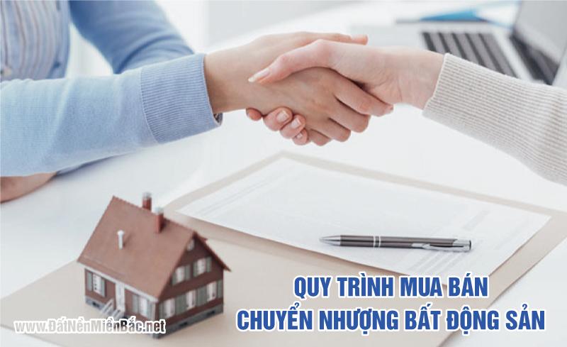 Quy trình mua bán chuyển nhượng bất động sản
